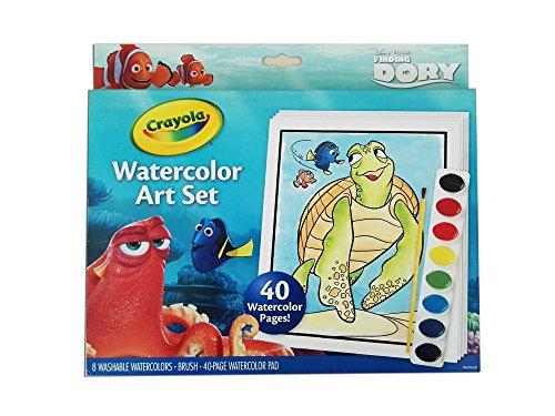 Crayola 04-6892-E-000 - Findet Dory, Wasserfarbenmalset