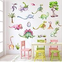 AIYANG Dinosaur Wall Decals Dino Wall Stickers for Boys & Girls Bedroom Playroom
