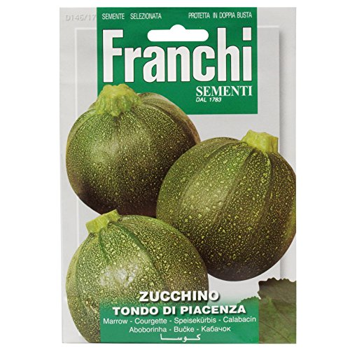 Seeds of Italy Franchi Semis de courgette ronde