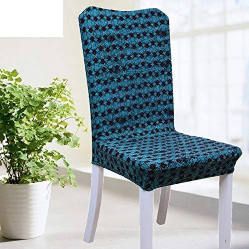 Sishe Stuhl Silpcover Elastischer Stuhlbezug für den Haushalt Stoffbezug Sitzhocker-W by (Farbe : W)