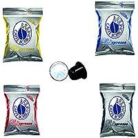 Caff蠂orbone Borbone Respresso DEGUSTAZIONE 50 NERA, 50 BLU, 50 RED, 50 ORO compatibili Nespresso - 4x50 capsule