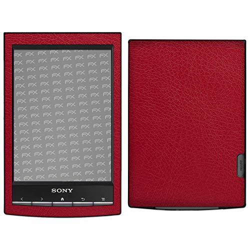 atFoliX Skin Compatible con Sony PRS-T1 Reader, Sticker Pegatina...