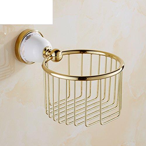 Europäische kupfer papier-handtuch-korb Keramik wc-papier-korb Tissue box Bad papierhalter Wc-papierhalter-B (Keramik Tissue Box Cover)