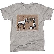 Banksy Zebra Washing Line Women's T-Shirt