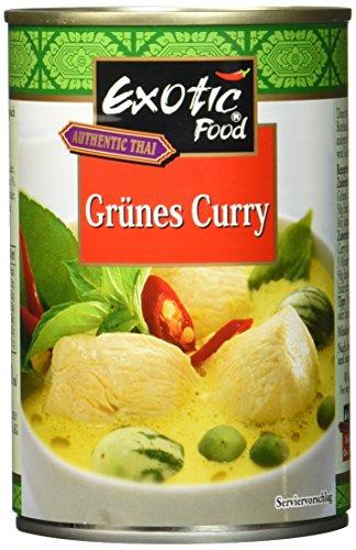 Exotic Food Grüne Currysauce Fix plus Fertig, 400 ml