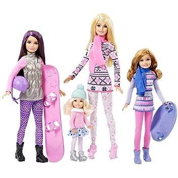 Barbie - CMY41 - Poupée - Barbie Et Ses Soeurs Au Ski