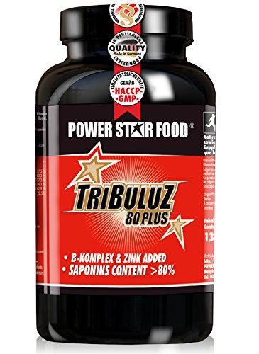 TRIBULUS TERRESTRIS EXTRAKT, 150 Vegi-Kapseln mit hohem Saponingehalt für einen natürlichen Testosteron-Haushalt. Tribulus in absoluter Pharma-Qualität plus Zink und Vitaminen als Testosteron Booster.