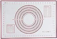 60x40CM Non-Stick Silicone Baking Mat Kneading Pad Sheet Glass Fiber Rolling Dough Large Size for Cake Macaron