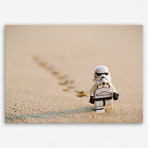 (ge Bildet !!! SENSATIONSPREIS Hochwertiges Leinwandbild - Stormtrooper IV Walking - 30 x 20 cm einteilig | Angebote der Woche Geschenke für Frauen Geschenke für männer |)