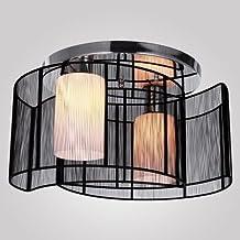 Glighone Lámpara Colgante 40W Lámpara de Techo Luz Moderna Lámpara de Araña Iluminación Contemporáneo Elegante No Incluye Bombillas