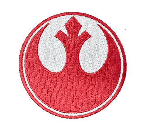 Super6props Star Wars Rebel Alliance Red Squadron Embroidered Iron on Patch Crew Uniform Patch for Cosplay, Costume and Fancy Dress 75mm x 75mm (Wars Kostüme Gruppe Star)