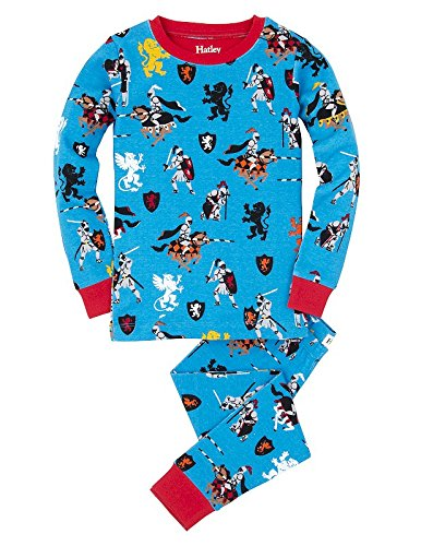 Hatley Medieval Knights Boys Long Pyjamas Set (All Over Print)