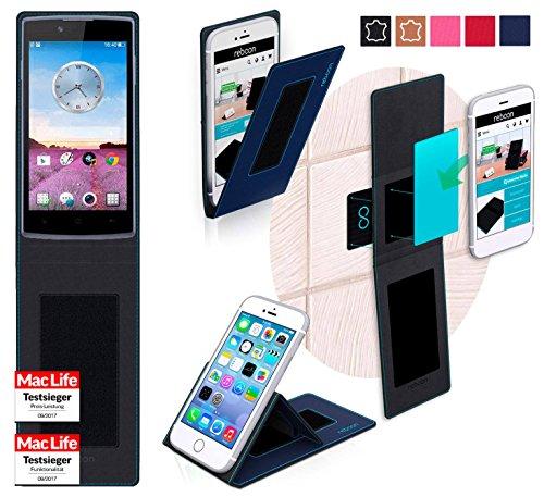 reboon Oppo Neo 3 Hülle Tasche Cover Case Bumper | Blau | Testsieger