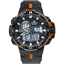 boys digital watch/Dual sport watch/Outdoor waterproof watch-D