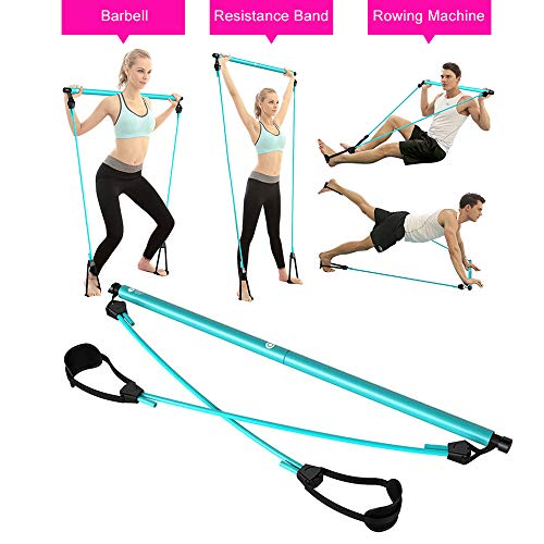 O RLY gymstick Fitness Resistance Bands Widerstandsband Tunning Bar Trainer Straps Gymnastikband Fitnessbänder Expander Set