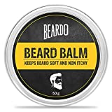 #1: BEARDO Beard Balm (50g) - Makes Beard Soft & Non-Itchy