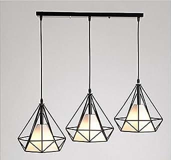 faym lustre 3 caf s bar restaurant de style scandinave et cr ative en fer forg lampe. Black Bedroom Furniture Sets. Home Design Ideas