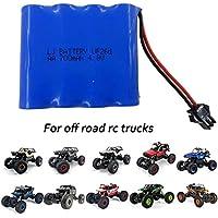 FSTgo 4.8V 700mAh Ni-CD Paquetes de Baterías Recargables para vehículos RC Shell Off-Road de Metal