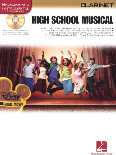 High School Musical - Selections (Clarinet). Partitions, CD pour Clarinette