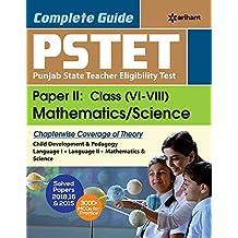 PSTET Punjab State Teacher Eligibility Test Paper 2 : Class (6-8) Mathematics / Science