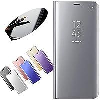 Nadoli für Xiaomi 6 Spiegel Hülle,Mirror Effect PU Leder Hülle Transparent Case Cover Handytasche Book PC Hart... preisvergleich bei billige-tabletten.eu