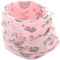 Cuello desmontable rosa para niñas