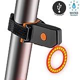 BOACRAZY Beste Fahrrad Rücklicht - USB Wiederaufladbare Bike Rücklicht - Wasserdicht LED Sport Fahrradlicht - LED-Fahrrad-Rotes Rücklicht mit 5 Modi - Einfach zu installieren für Radfahren Sicherheit