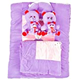 Baybee Baby BunnYBeaR Basic Bed With Pillow,Bed Sheet And Bolster Set.