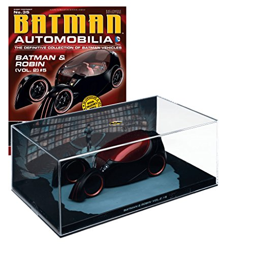 Batman Automobilia Collection Batman-Fahrzeuge Nº 35 Batman & Robin - Robin Und Ringe Batman