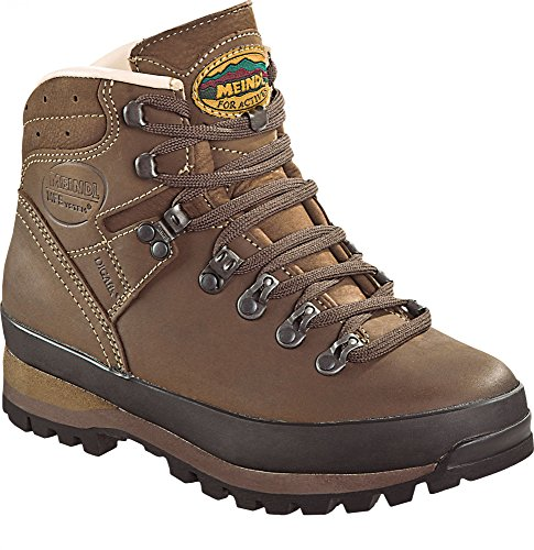 Sapatos Borneo Marrom 2 Mfs Escuro Nougat Escuro Lady nougat Marrom Meindl ffxg6