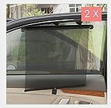 ALLOYWORKS Universal Sonnenschutzrollo fürs Auto Kinder Sonnenrollo
