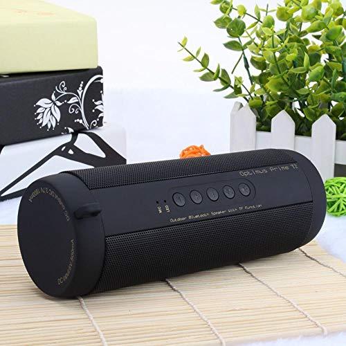 Qpw Bluetooth-Lautsprecher Übergewicht Bass Karte hochwertige Outdoor wasserdicht Funklautsprecher 180 * 63 * 63 mm