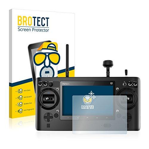 BROTECT Schutzfolie Matt für Yuneec ST16 Displayschutzfolie [2er Pack] - Anti-Reflex Displayfolie, Anti-Fingerprint, Anti-Kratzer