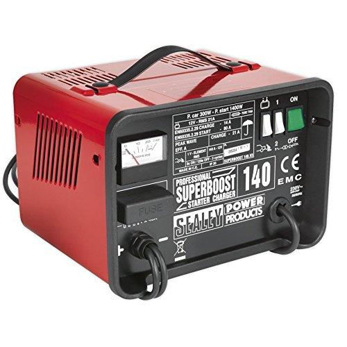 Preisvergleich Produktbild SEALEY Starter / Ladegerät 230V 12V 140/21amp