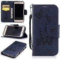 Cozy Hut Hülle für Samsung A3 2017, Tasche für Galaxy A3 2017, Case Cover für Samsung Galaxy A3 2017, Lederhülle/Handyhülle / Hülle/Etui / Shell/Leder Tasche Case Cover für Samsung Ga