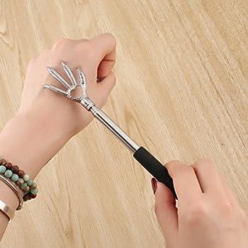 Fantasyworld Télescopique Claw Massager Retour Scratcher 22-58cm griffoir Massage Main Griffe