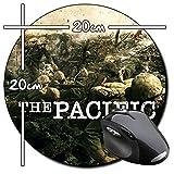 The Pacific Steven Spielberg Tom Hanks A Tapis De Souris Ronde Round Mousepad PC
