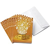 Amazon.co.uk Gift Cards - 10-Pack Greeting Cards - FREE One-Day Delivery