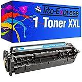 PlatinumSerie® 1 Toner XL Cyan für HP CE411A Laserjet Pro 400 Color M451DN 400 Color M451DW 400 Color M451NW 400 M475DN 400 M475DWHP