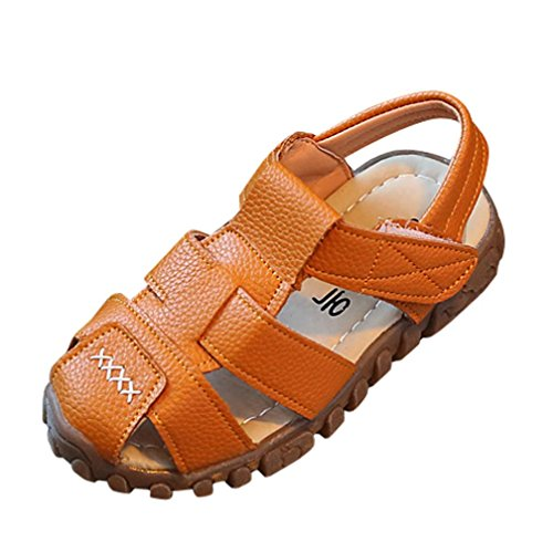 Baby Sandals,Ba Zha  Baby Kids Fashion Sneaker Children Boys Girls Summer Casual Sandals Shoes Children's Sandals Beach Shoes Soft Sole Toddler Shoes Pre-Walker Shoes 1-3.5 Years Old