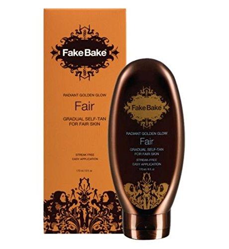 Fake Bake Lux Golden Bronze Gradual Fair -