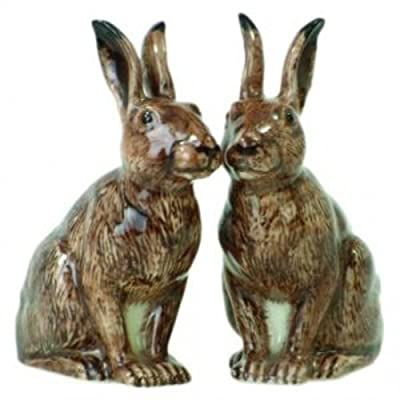 Quail Ceramics Hare Salt & Pepper Pots from Quail Ceramics