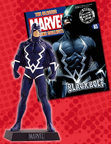 Marvel Figurine Collection #65 Black Bolt (Spiderman Black Kostüm Comic)