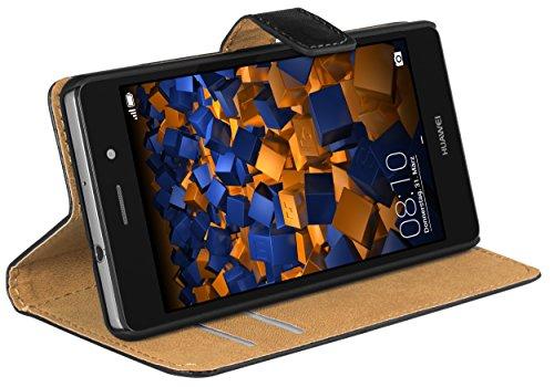 mumbi Tasche im Bookstyle für Huawei P8 Lite Tasche (nicht für das P8 Lite Smart)