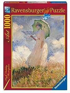 Ravensburger - Puzzle - Monet : La Femme À L'Ombre - 1000 Pièces