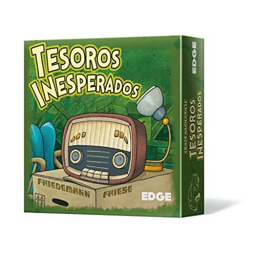 Edge Entertainment- Tesoros inesperados - Español, Color (EDG2F09)
