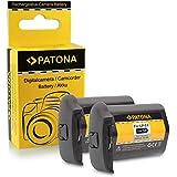 2x Batterie LP-E4 / LP-E4N Pour Canon EOS 1D C, 1D Mark III, 1D Mark IV, 1DX, 1Ds Mark III (Pour 1DX Sans Indication De Temps Restant)