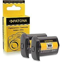 2x Batería LP-E4 / LP-E4N para Canon EOS 1D C | EOS 1D Mark III |EOS 1D Mark IV | EOS 1D X | EOS 1Ds Mark III