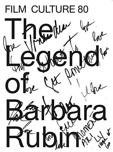 The legend of Barbara Rubin : Film culture 80 par Barbara Rubin, Jonas Mekas