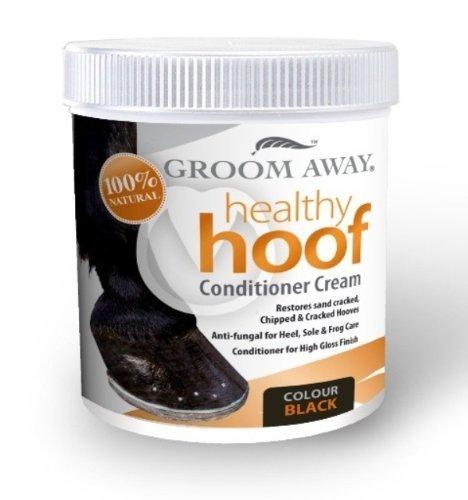 Groom Away - Pferd gesunde Huf Spülung Creme schwarz X 200 ml